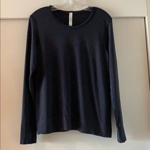 Breeze By LS top in midnight navy